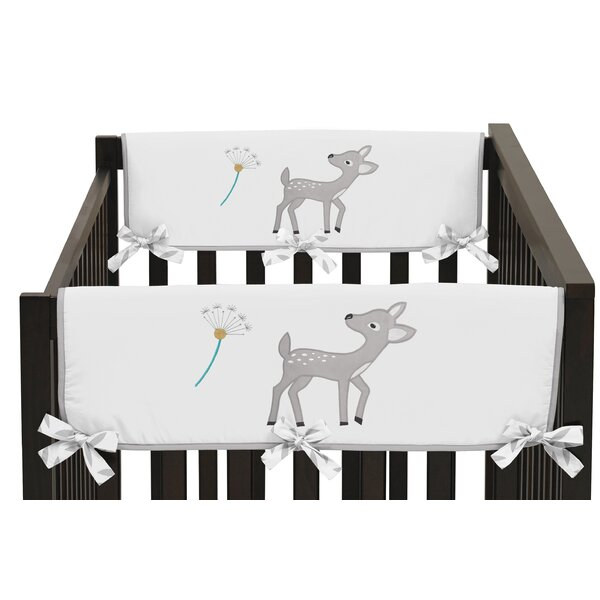 Forest Deer Rail Guard Cover (Set of 2) by Sweet Jojo Designs