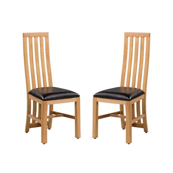 Arreola Solid Wood Dining Chair (Set of 2) by Loon Peak
