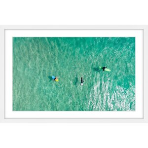 'Calm Waters' by Karolis Janulis Framed Photographic Print by Marmont Hill
