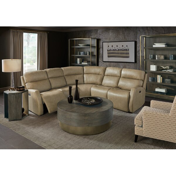 Aaron Reclining Sectional by Bernhardt