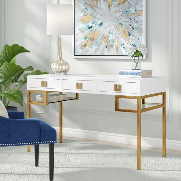Angilia Writing Desk by Willa Arlo Interiors