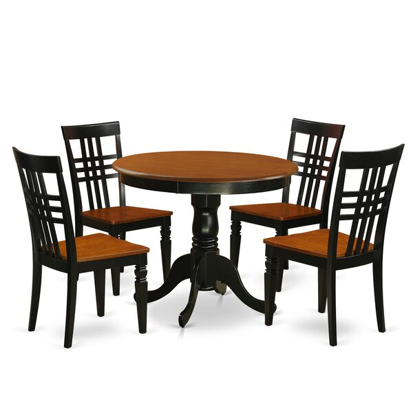 Antony 5 Piece Dining Set by August Grove