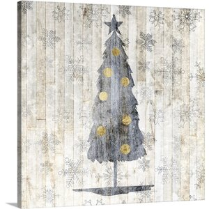 Sophisticated Christmas II by Grace Popp Graphic Art on Canvas by Great Big Canvas
