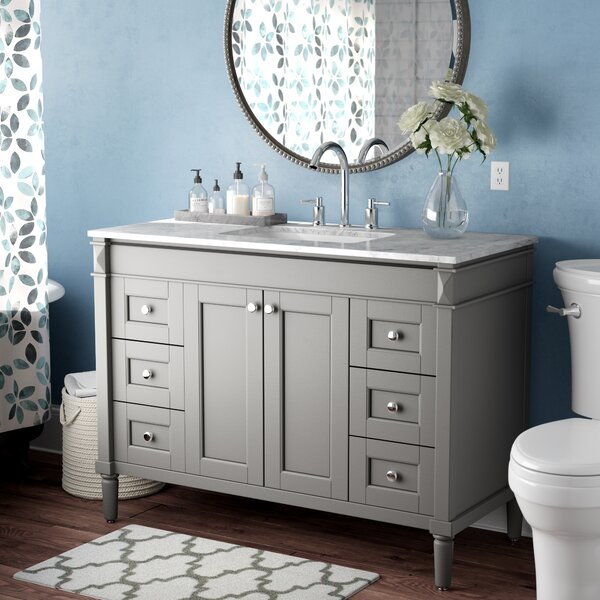 Millfield 48 Single Bathroom Vanity Set by Andover Mills