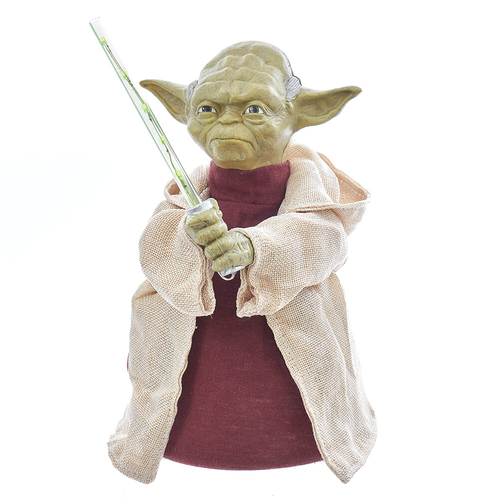 Kurt Adler Star Wars Battery Operated Yoda With Led