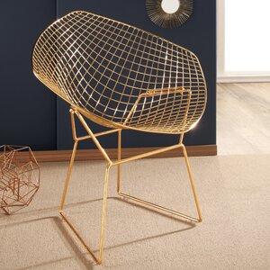 Brucie Iron Papasan Chair Willa Arlo Interiors