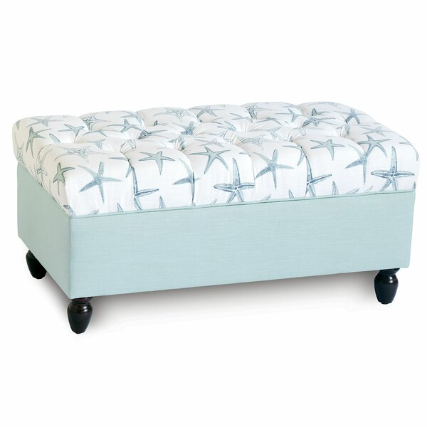 Marina Starfish Tufted Storage Ottoman By Eastern Accents