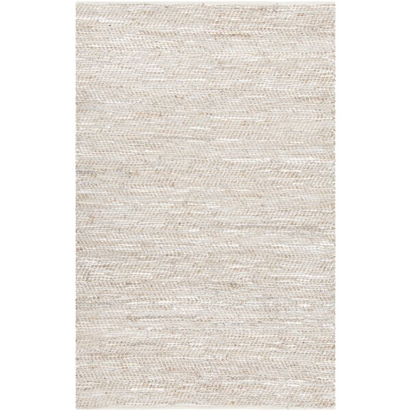 Polito Hand-Woven Silver Area Rug by Gracie Oaks