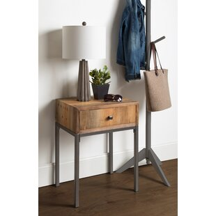 Reviews Pruitt Wood End Table with Storage ByUnion Rustic