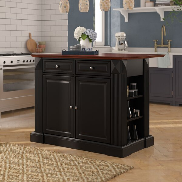 #1 Haslingden Kitchen Island By Three Posts Great Reviews