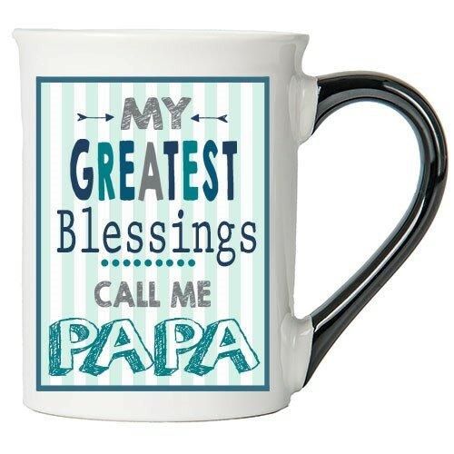 Paramus Greatest Blessings Papa Coffee Mug by Red Barrel Studio