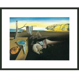 'The Persistence of Memory' by Salvador Dali Framed Painting Print by Frames By Mail