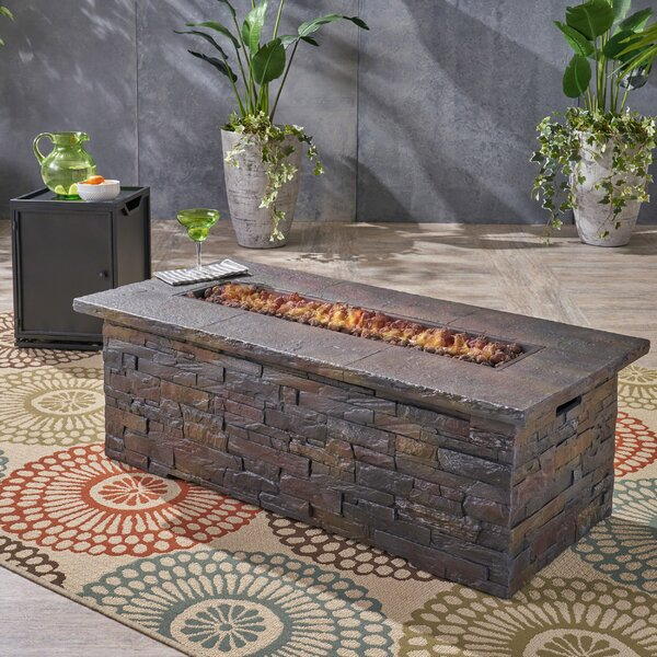 Ritchie Outdoor Concrete Propane Fire Pit by Home Loft Concepts