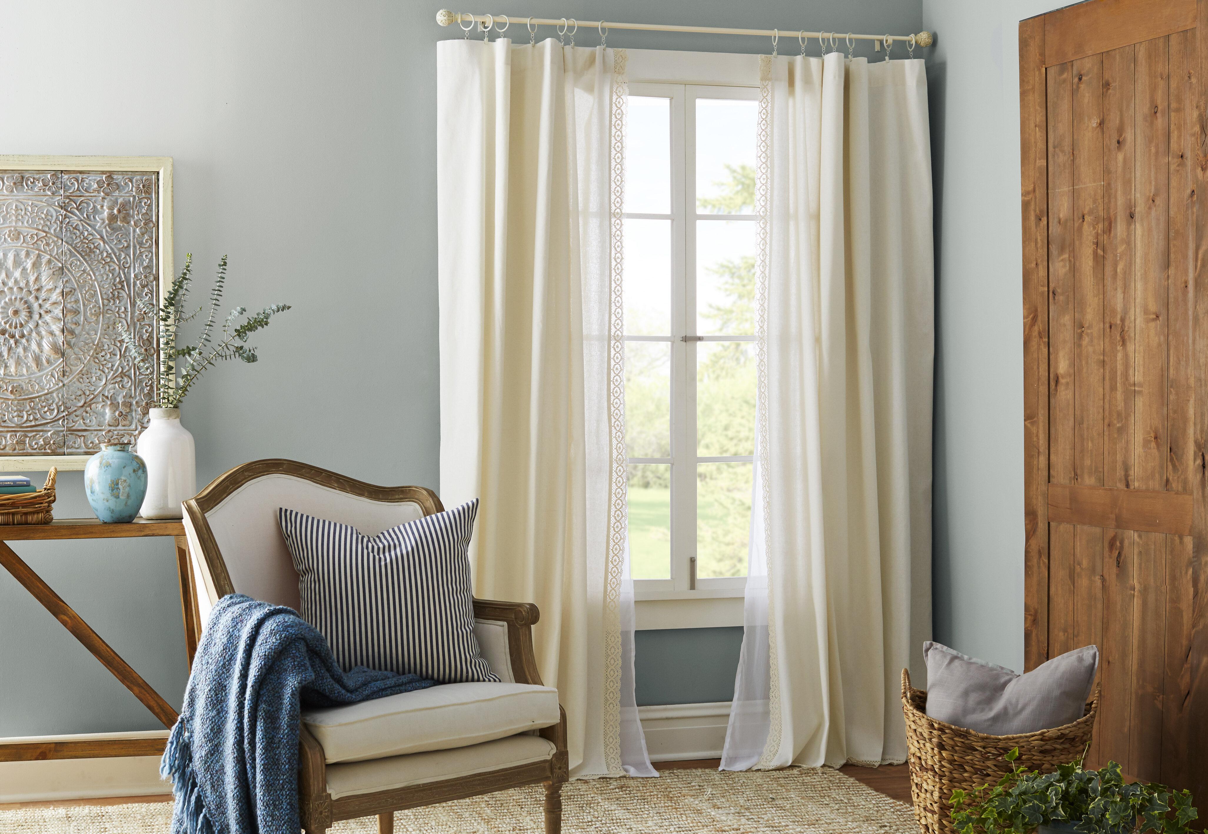 Types Of Curtain Rods Wayfair