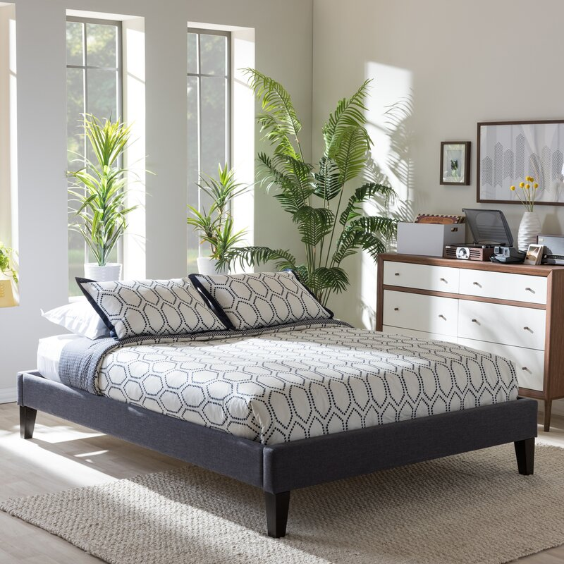 283 Best Images About Fabric Bed Headboards On Pinterest: Wholesale Interiors Biagio Upholstered Platform Bed