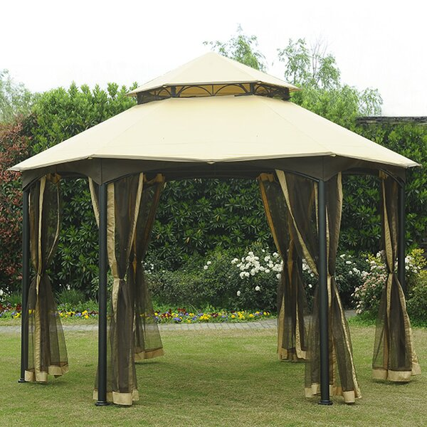 Replacement Mosquito Netting for Southbay Easy Setup Gazebo by Sunjoy