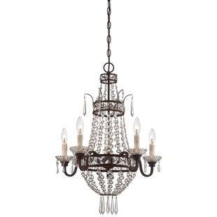 Comparison Mcmasters 5-Light Chandelier By Astoria Grand