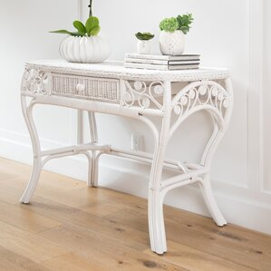 Mistana Patton Rattan Console Table Image