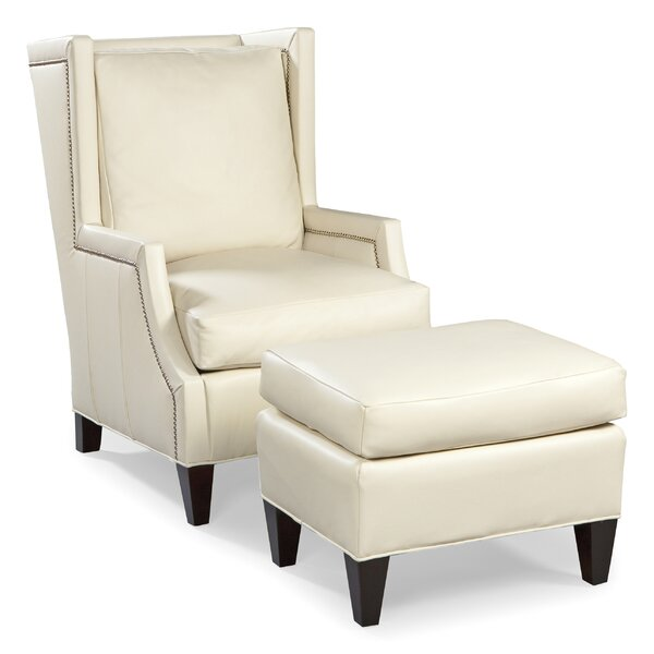 Stuart Wingback Chair by Fairfield Chair