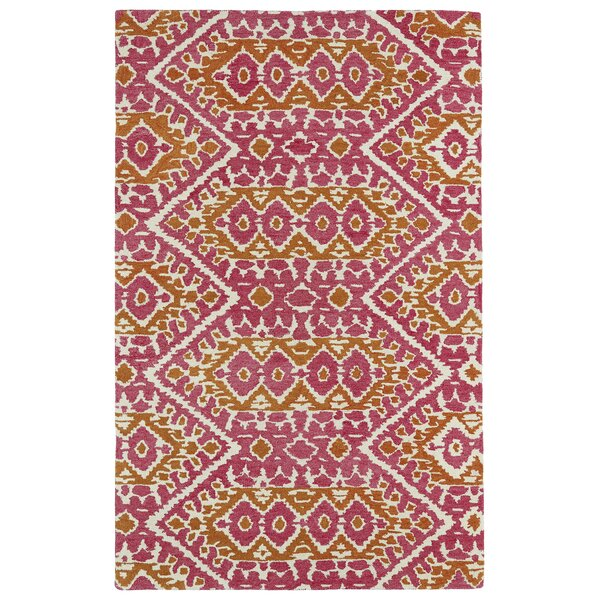 Hocca Pink Area Rug by Bungalow Rose
