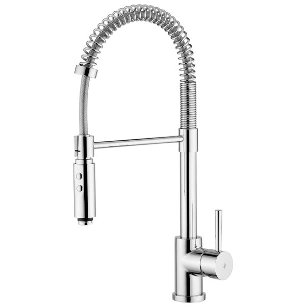 Evo Single Handle Kitchen Faucet by WS Bath Collections