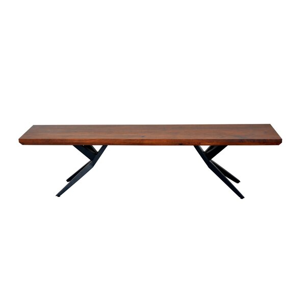 Weir Wood Bench by Union Rustic