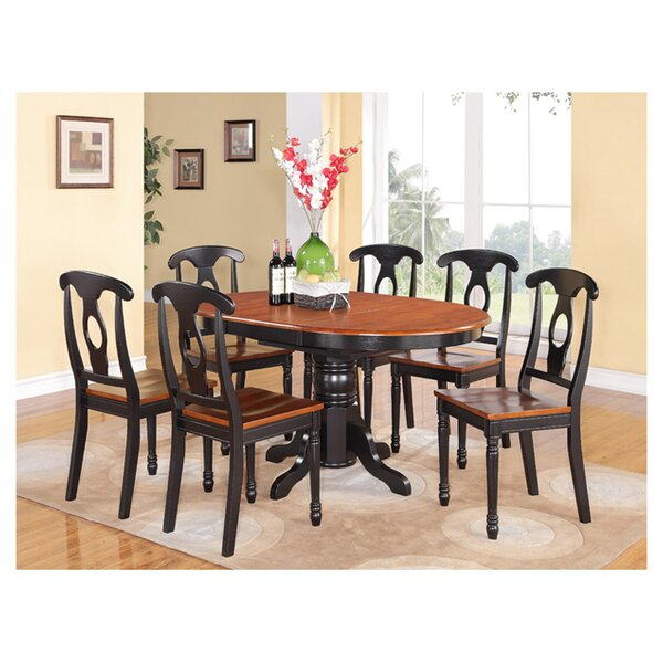 Aimee 3 Piece Extendable Dining Set by August Grove