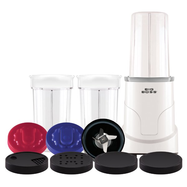 15 Piece Personal Electric Countertop Blender by Big Boss