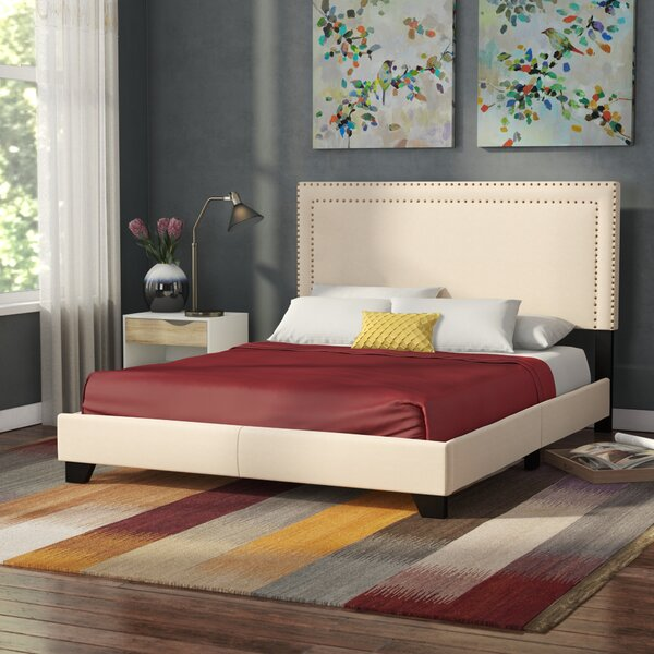 Charlie Upholstered Standard Bed by Zipcode Design