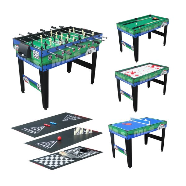 10-in-1 Major League Soccer 48 Game Table by Triumph Sports USA