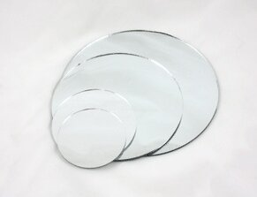 Flat Plate Accent Mirror by WGV International
