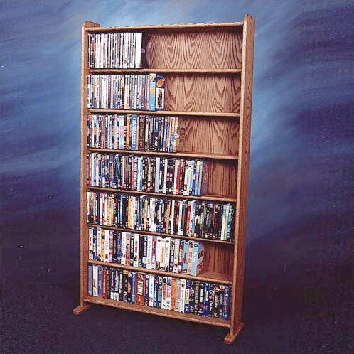 700 Series 399 DVD Multimedia Storage Rack by Wood Shed