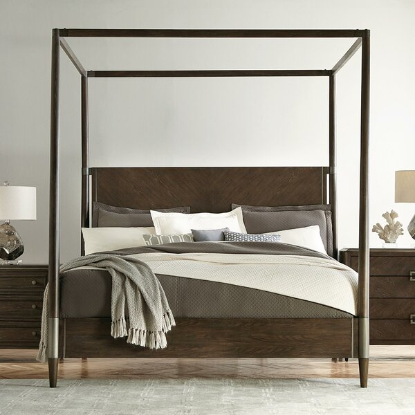 Hanks Canopy Bed by Gracie Oaks