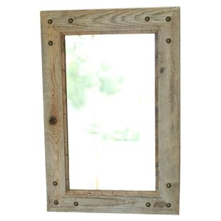 Millwood Pines Folcroft Rustic Accent Mirror