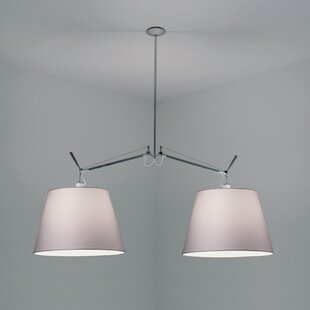 Tolomeo Double Suspension 2-Light Kitchen Island Pendant By Artemide