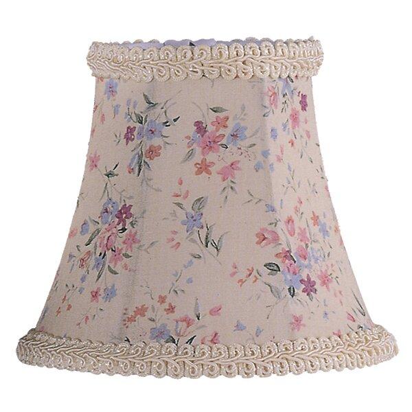 4.5 H Silk/Shantung Bell Candelabra Shade ( Clip On ) in Cream