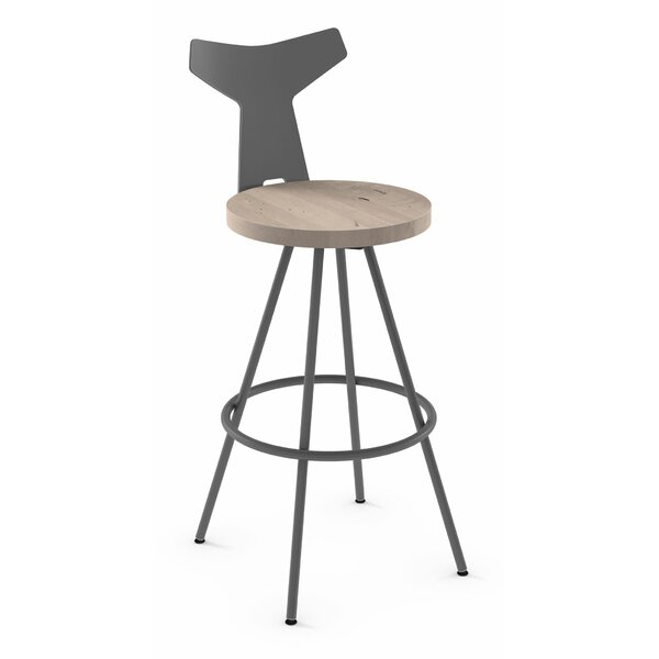 Avondale 30 Swivel Bar Stool by Brayden Studio