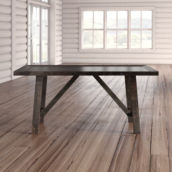 Sorrentino 7 Piece Solid Wood Dining Set by Millwood Pines
