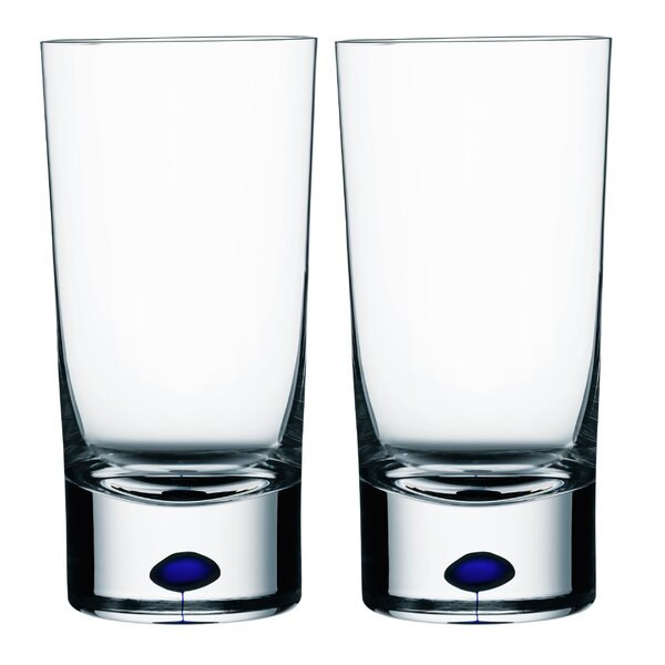 Intermezzo 13 oz. Crystal Every Day Glass (Set of 2) by Orrefors