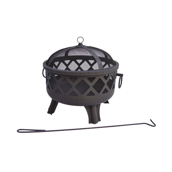 Sarasota Steel Fire Pit by Landmann