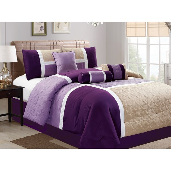 Scribner 7 Piece Comforter Set by Latitude Run