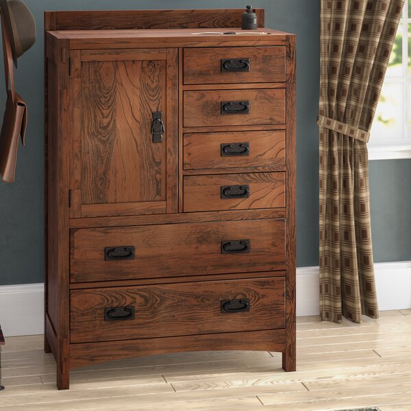 Castro 6 Drawer Gentleman's Chest by Loon Peak