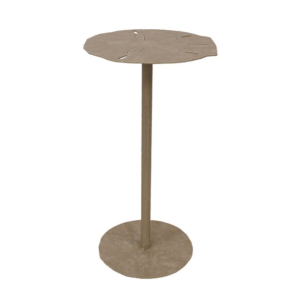 Ingham Sand Dollar Top End Table by Highland Dunes