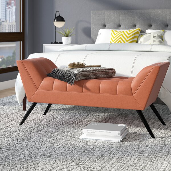 Doonan Upholstered Bench By Langley Street™ by Langley Street™ New