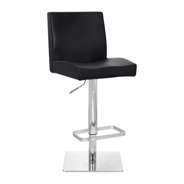 Chicago Adjustable Height Swivel Bar Stool by Bromi Design