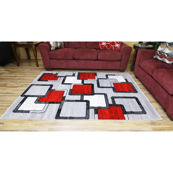 Silver Area Rug by Brady Home