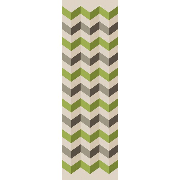 Diego Hand Tufted Chevron Area Rug by Ebern Designs
