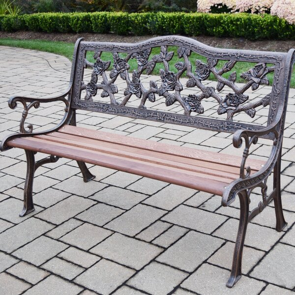 King Rose Park Bench by Oakland Living