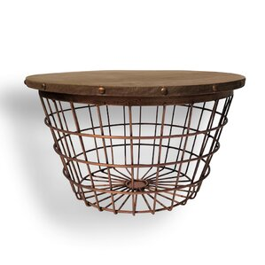 Urban Small Wire Basket End Table by Whole H..