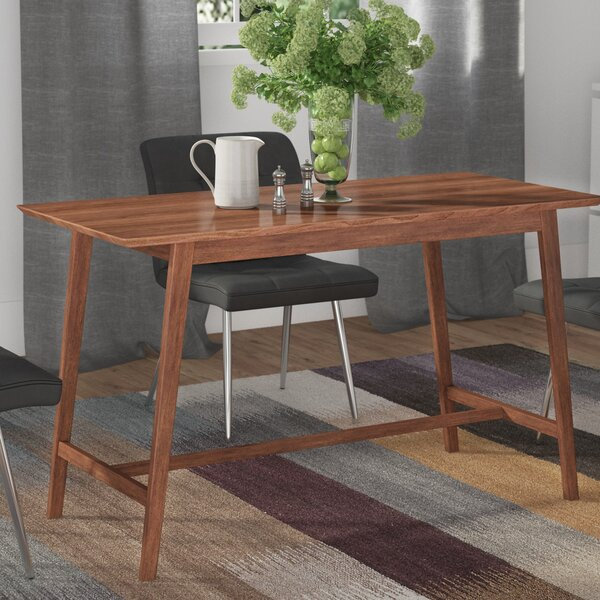 Flavius Solid Wood Dining Table by Langley Street
